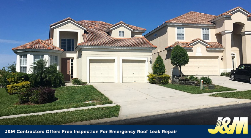 Ju0026M Contractors Offers Free Inspection For Emergency Roof Leak Repair